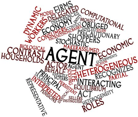 Abstract word cloud for Agent with related tags and terms