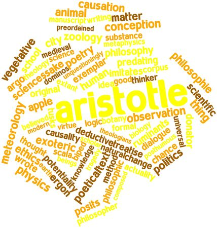 believed: Abstract word cloud for Aristotle with related tags and terms