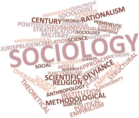 sociologia: Nube de palabras Resumen de Sociolog�a con etiquetas y t�rminos relacionados