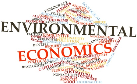 imply: Abstract word cloud for Environmental economics with related tags and terms