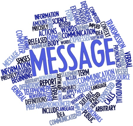 means to an end: Abstract word cloud for Message with related tags and terms
