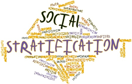 constituting: Abstract word cloud for Social stratification with related tags and terms