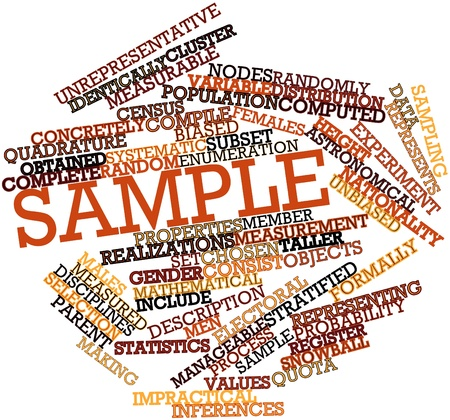 Abstract word cloud for Sample with related tags and terms