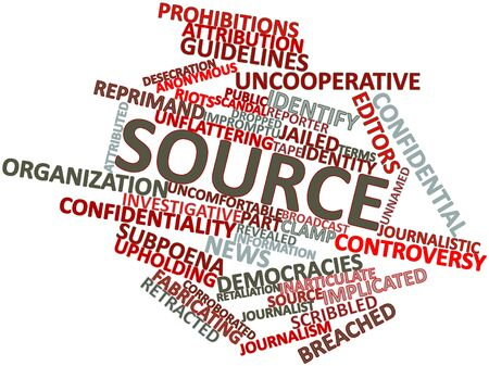 investigative: Abstract word cloud for Source with related tags and terms