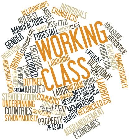 journalistic: Word cloud astratto per il lavoro di classe con tag correlati e termini
