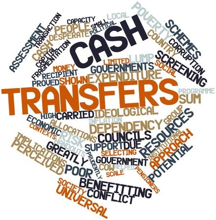 traslados: Nube palabra abstracta para las transferencias en efectivo con las etiquetas y t�rminos relacionados Foto de archivo