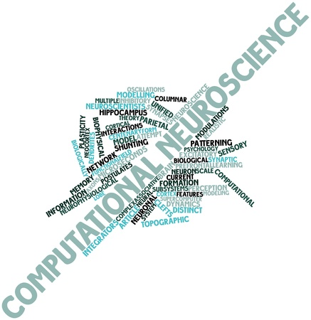 Abstract word cloud for Computational neuroscience with related tags and terms Stock Photo - 16602002