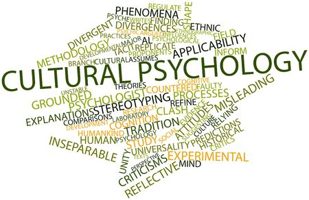 Abstract word cloud for Cultural psychology with related tags and terms Stock Photo - 16602108