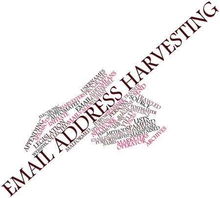 imprecise: Abstract word cloud for Email address harvesting with related tags and terms