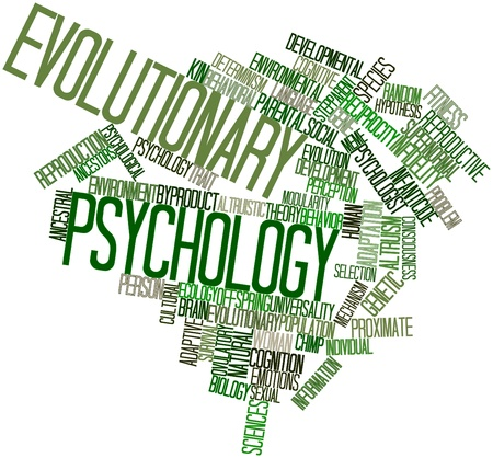 developmental biology: Abstract word cloud for Evolutionary psychology with related tags and terms