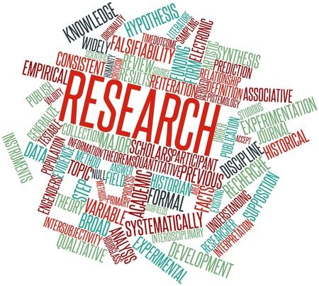 hipótesis: Nube de palabras Resumen de Investigación con las etiquetas y términos relacionados