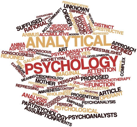 Abstract word cloud for Analytical psychology with related tags and terms Stock Photo - 16617645