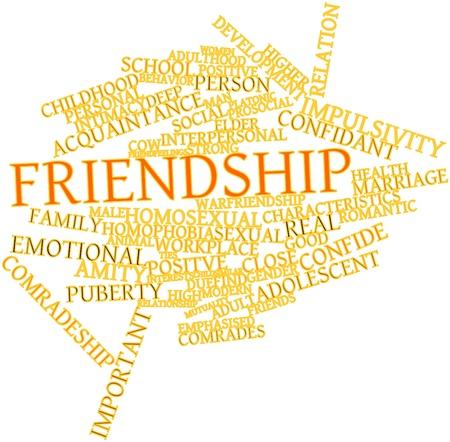 homosexuales: Nube de palabras Resumen de Amistad con etiquetas y términos relacionados
