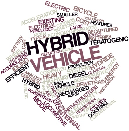 citations: Abstract word cloud for Hybrid vehicle with related tags and terms