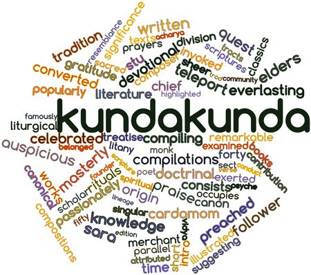 Abstract word cloud for Kundakunda with related tags and terms Stock Photo - 16617628