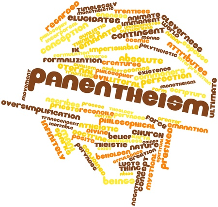 Abstract word cloud for Panentheism with related tags and terms
