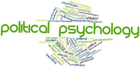 implications: Abstract word cloud for Political psychology with related tags and terms