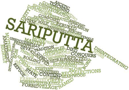 duramen: Nube palabra abstracta para Sariputta con etiquetas y términos relacionados