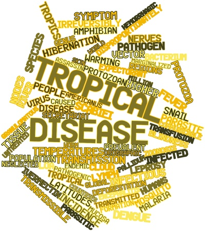 implicated: Abstract word cloud for Tropical disease with related tags and terms