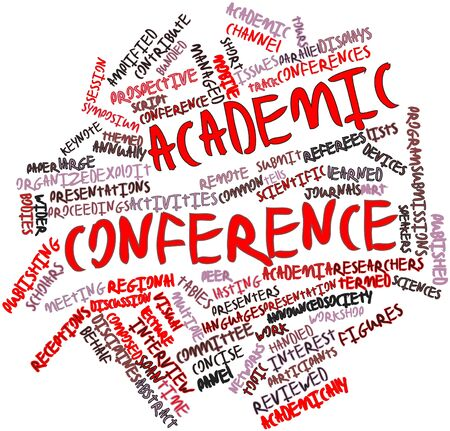 abstract academic: Abstract word cloud for Academic conference with related tags and terms