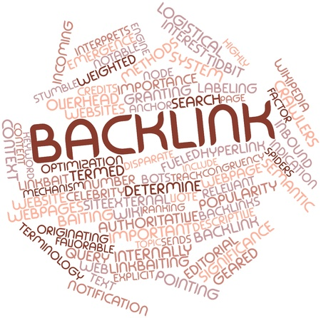 backlinks: Abstract word cloud for Backlink with related tags and terms