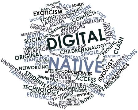 councils: Word cloud astratto per il nativo digitale con tag correlati e termini