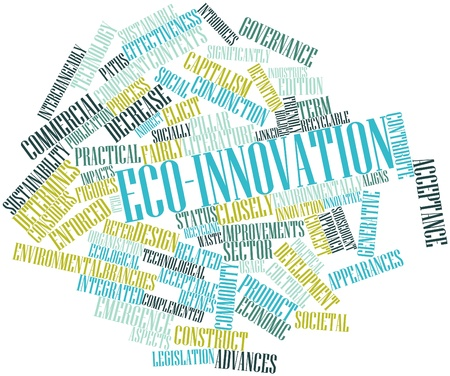 interchangeably: Abstract word cloud for Eco-innovation with related tags and terms