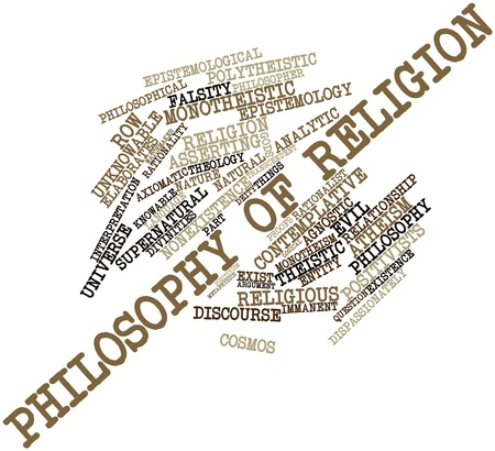 epistemology: Abstract word cloud for Philosophy of religion with related tags and terms