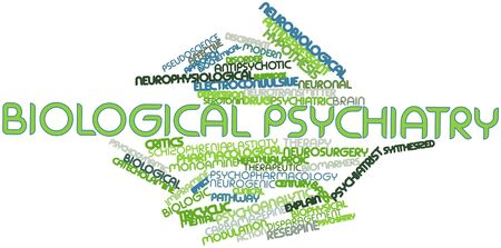 Abstract word cloud for Biological psychiatry with related tags and terms Stock Photo - 16629961