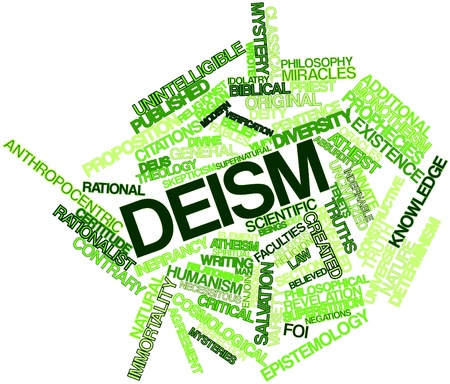 Abstract word cloud for Deism with related tags and terms
