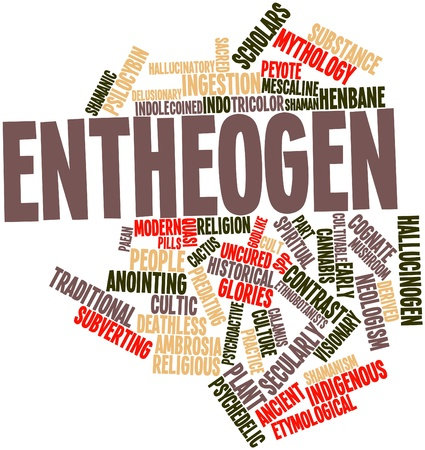 Abstract word cloud for Entheogen with related tags and terms Stock Photo - 16632304