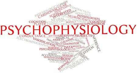 implicit: Abstract word cloud for Psychophysiology with related tags and terms