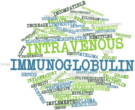 Abstract word cloud for Intravenous immunoglobulin with related tags and terms Stock Photo - 16632806