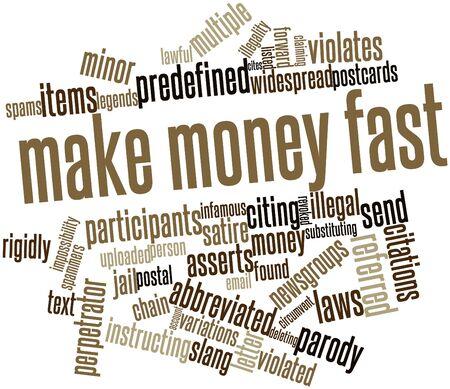 supposedly: Nube parola astratta per fare soldi velocemente con tag correlati e termini