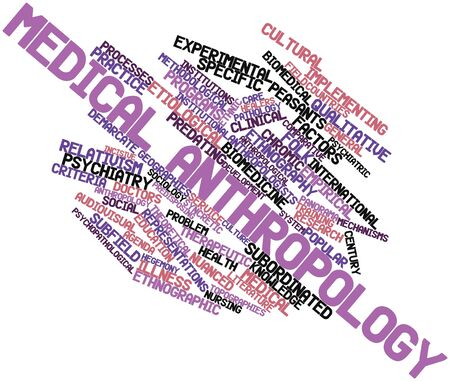 sociology: Abstract word cloud for Medical anthropology with related tags and terms