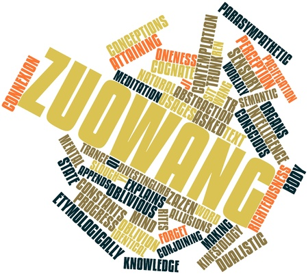 conceptions: Abstract word cloud for Zuowang with related tags and terms
