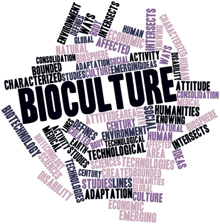 intersects: Abstract word cloud for Bioculture with related tags and terms