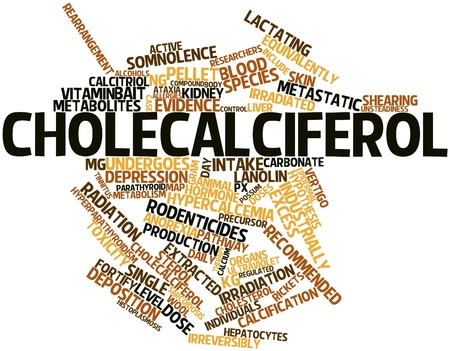 in somnolence: Abstract word cloud for Cholecalciferol with related tags and terms