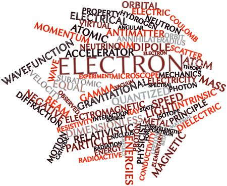 Abstract word cloud for Electron with related tags and terms Stock Photo - 16633007