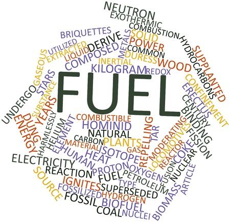 holzbriketts: Abstraktes Wort-Wolke für Kraftstoff mit verwandte Tags und Begriffe