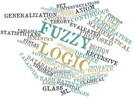 denoted: Abstract word cloud for Fuzzy logic with related tags and terms