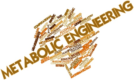 constraints: Abstract word cloud for Metabolic engineering with related tags and terms