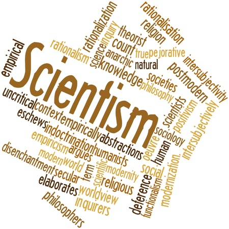 rationalism: Abstract word cloud for Scientism with related tags and terms