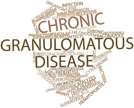 glycoprotein: Abstract word cloud for Chronic granulomatous disease with related tags and terms