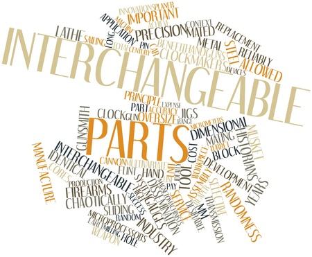 historians: Word cloud astratto per le parti intercambiabili con tag correlati e termini