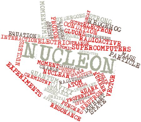 constituting: Abstract word cloud for Nucleon with related tags and terms