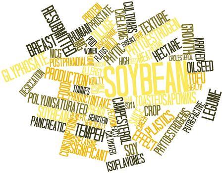 labranza: Nube palabra abstracta para soja con etiquetas y t�rminos relacionados