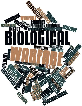 cholera: Abstract word cloud for Biological warfare with related tags and terms