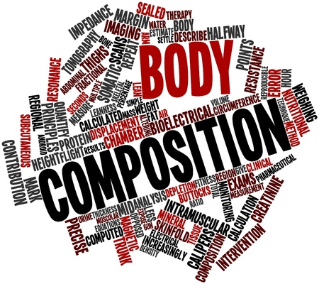 subcutaneous: Abstract word cloud for Body composition with related tags and terms
