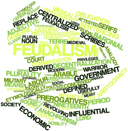 feudalism: Abstract word cloud for Feudalism with related tags and terms